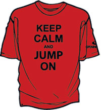 Keep Calm Jump On