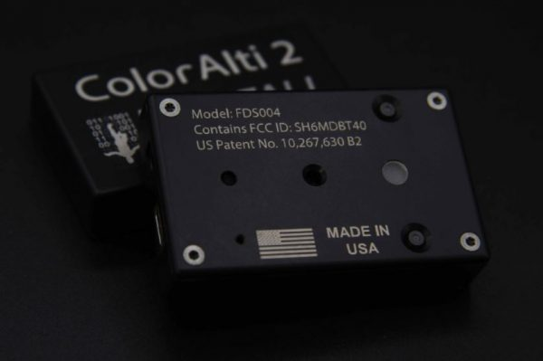 ColorAlti 2 LED Audible-Visual Skydiving Altimeter