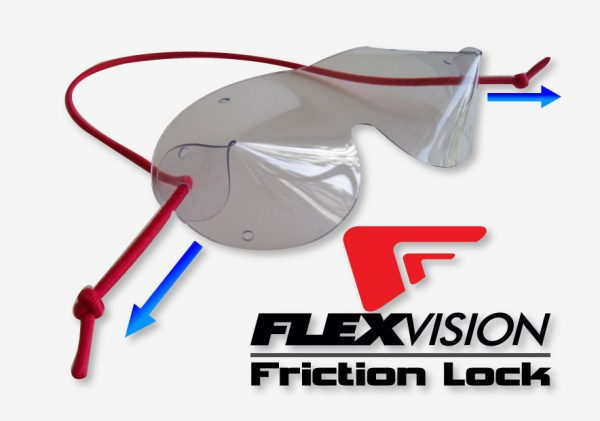 Flexvision Mini Skydiving/Windtunnel Goggles