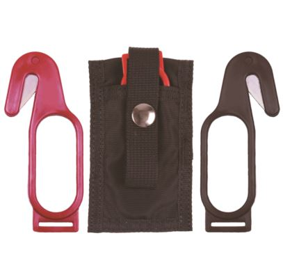 Slotted Polycarbonate 4in Hook-Knife